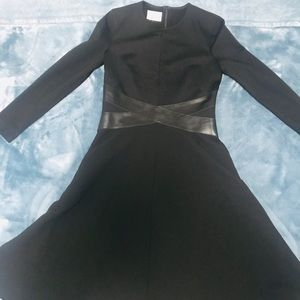 Akris Punto Black long sleeve Dress
